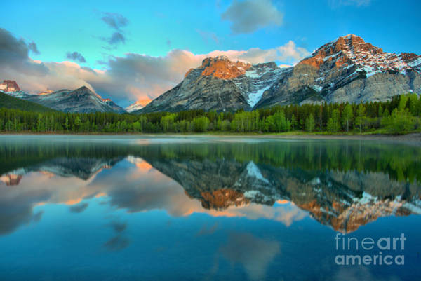 Photograph - Moring Reflections At Wedge Pond by Adam Jewell