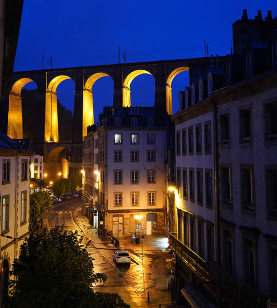 Photograph - Morlaix 5 by Andrew Fare