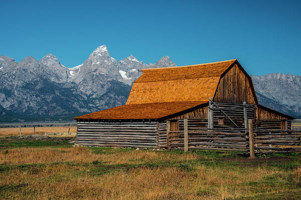 Photograph - Mormons Barn 3779 by Donald Brown