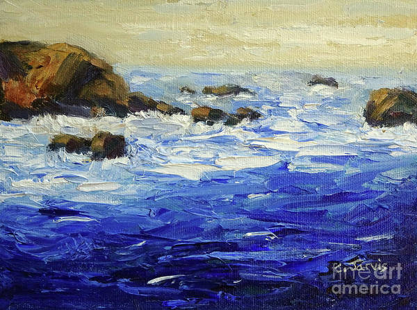 Painting - Morning At The Coast by Carolyn Jarvis