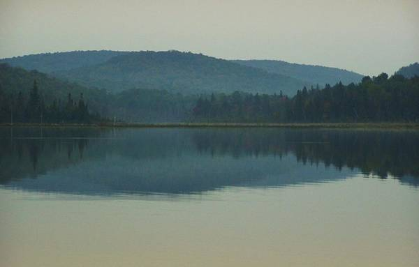 Houlton Photograph - Morning Baptiste Lake by Richard John Houlton