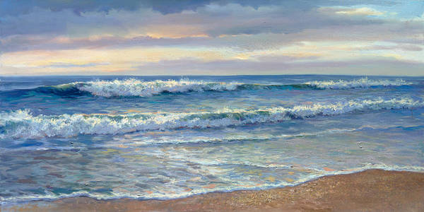 Wall Art - Painting - Morning Calm by Laurie Snow Hein