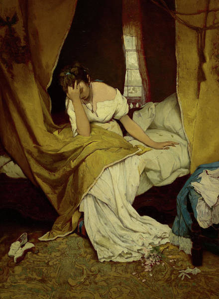 Wall Art - Painting - Morning, Fading, 1870 by Gabriel Cornelius Ritter von Max