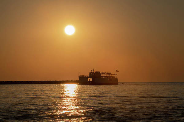 Photograph - Morning Ferry by Dan Friend