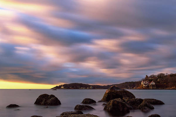Photograph - Morning Glow, Stage Fort Park. Gloucester Ma. by Michael Hubley