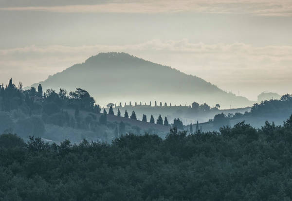 Photograph - Morning Hills Of Toscany by Jaroslaw Blaminsky