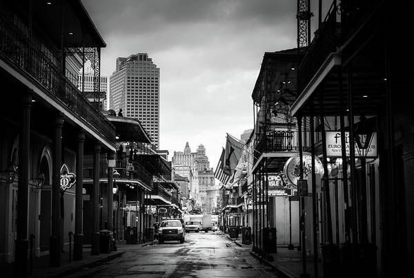Wall Art - Photograph - Morning In New Orleans In Black And White by Greg and Chrystal Mimbs
