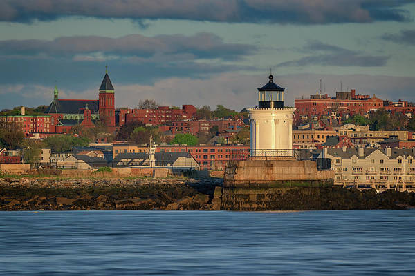 Photograph - Morning In Portland Harbor by Rick Berk