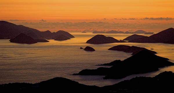 Photograph - Morning Islands by Gary Felton