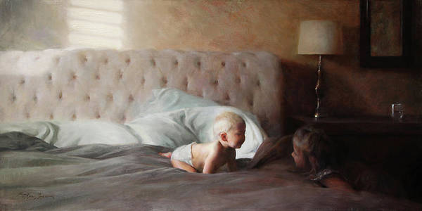 Wall Art - Painting - Morning Light by Anna Rose Bain