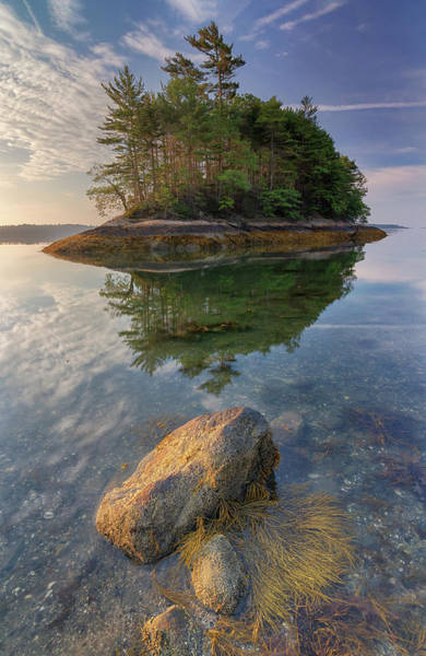 Photograph - Morning Light At Googins Island by Kristen Wilkinson