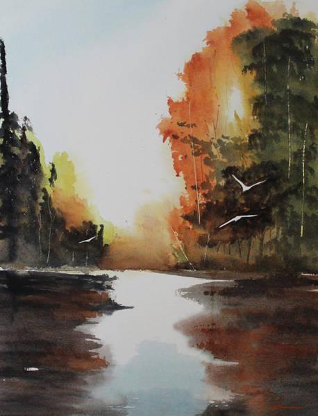 Wall Art - Painting - Morning Light by Francisco Ventura Jr