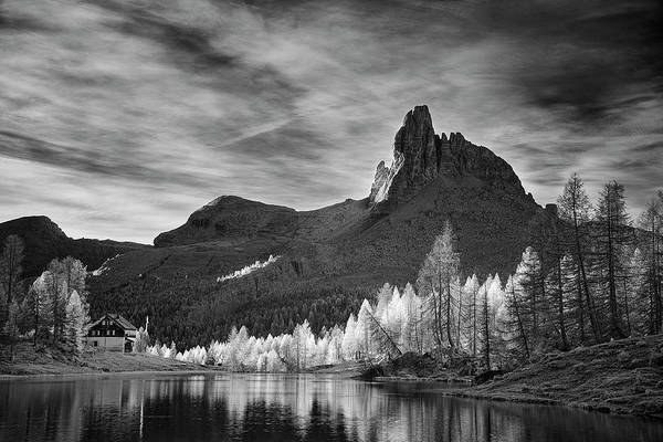 Wall Art - Photograph - Morning Light In The Dolomites by Jon Glaser