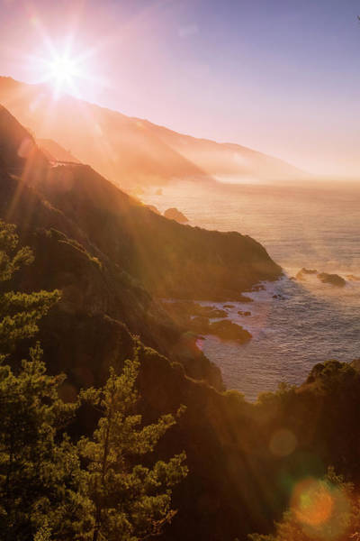 Wall Art - Photograph - Morning Light Misty Coast by Vincent James