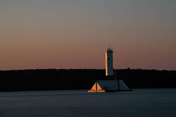 Photograph - Morning Light On The Lighthouse by Dan Friend