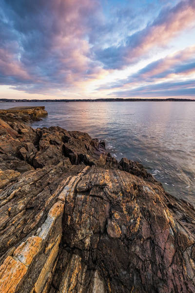 Photograph - Morning Light Over The Piscataqua River. by Jeff Sinon