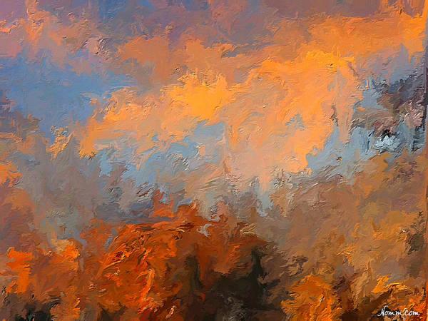 Digital Art - Morning Light by Rein Nomm