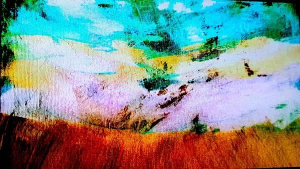 Painting - Morning Meadow by Nikki Dalton