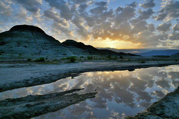 Photograph - Morning Mirror Image At Ruby Mountain by Ray Mathis