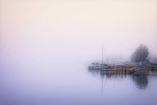 Bernadette Photograph - Morning Mist by Bernadette Van der Vliet