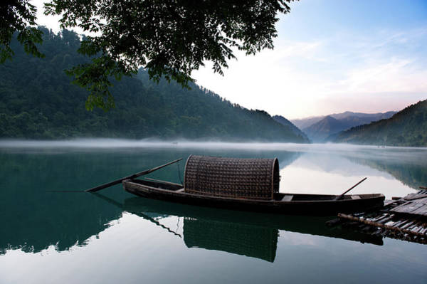 Raft Photograph - Morning Mist by Elias Wong
