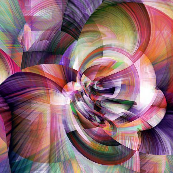 Wall Art - Digital Art - Morning  Mist by Grace Iradian