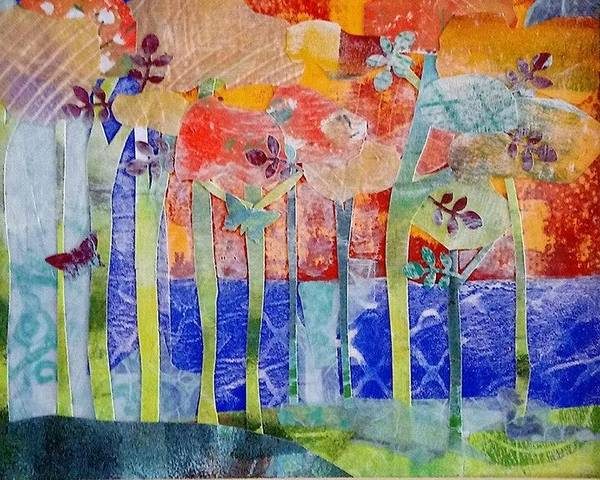 Wall Art - Mixed Media - Morning Mist by ILona Halderman
