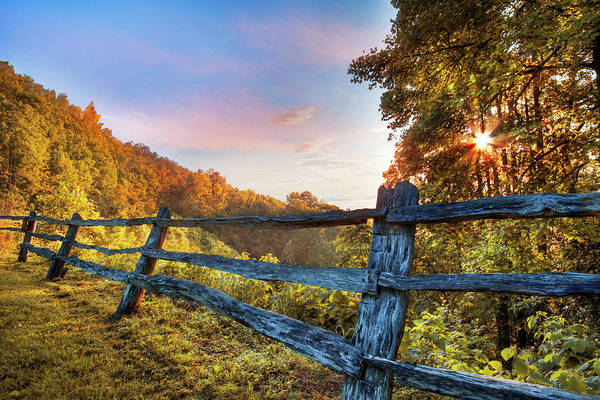 Photograph - Morning Mountain Glow by Debra and Dave Vanderlaan