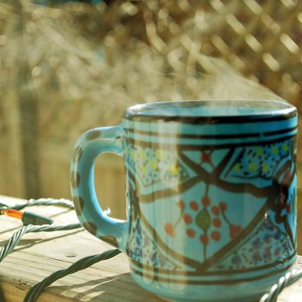 Mug Photograph - Morning Mug by Marie Kuzniar