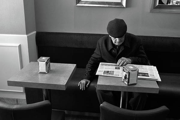 Wall Art - Photograph - Morning News by Carlos Caetano