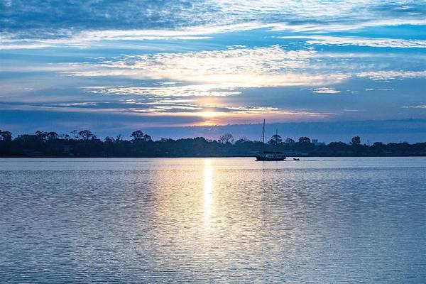 Ormond Beach Photograph - Morning On The River by Mary Ann Artz