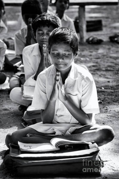 Wall Art - Photograph - Morning Prayers At School by Tim Gainey