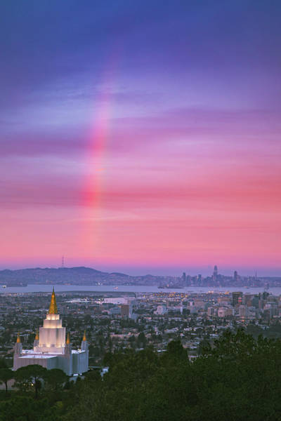 Wall Art - Photograph - Morning Rainbow Magic by Vincent James