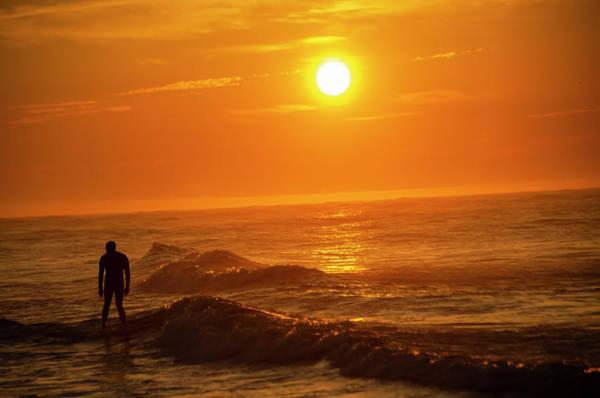 Photograph - Morning Sun Surfer by Bill Cannon