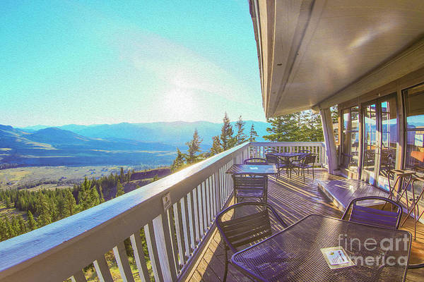 Photograph - Morning Sunrise At Sun Mountain Lodge Architectural Photography By Omaste Witkowski by Omaste Witkowski