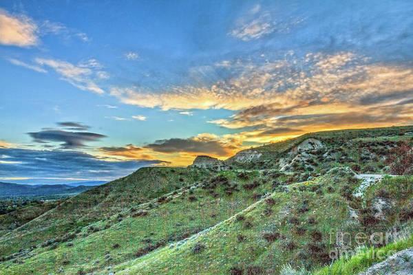 Wall Art - Photograph - Morning Sunrise Over Emmett Foothills by Robert Bales