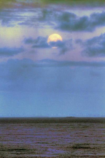 Camera Raw Photograph - Morning Super Moon by Brenton Cooper