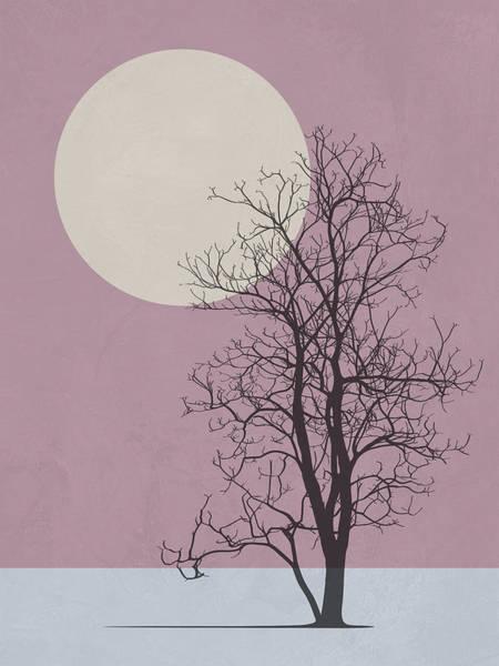 Earth Day Wall Art - Mixed Media - Morning Tree by Naxart Studio