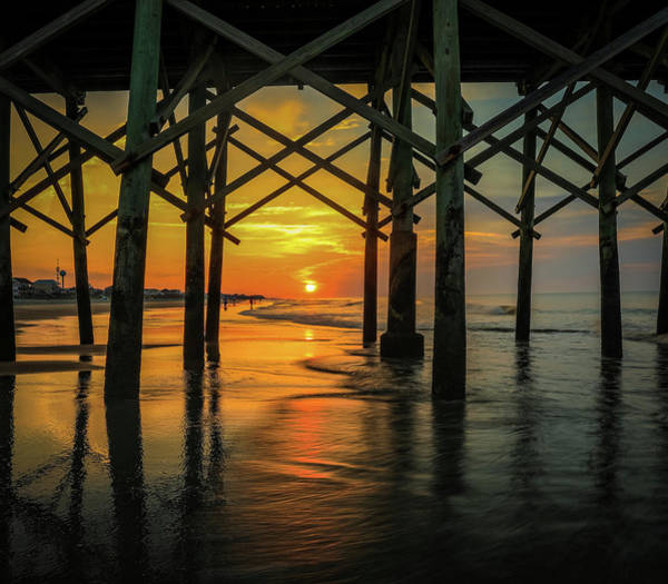 Photograph - Morning Under The Pier by Dan Sproul