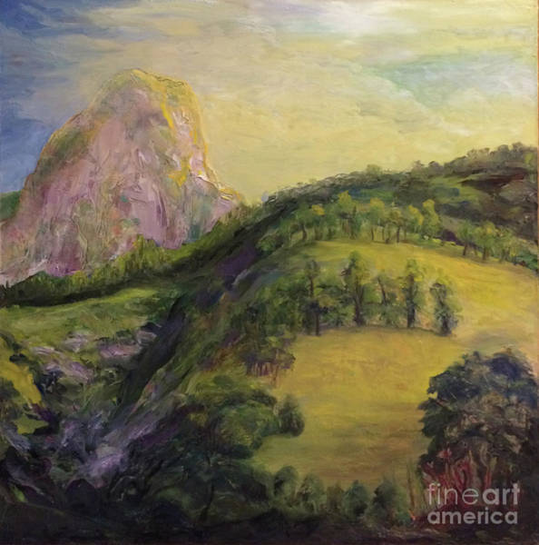 Painting - Moro Rock, Kings Canyon by Donna Hall