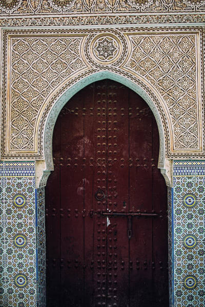 Wall Art - Photograph - Moroccan Door by Pati Photography