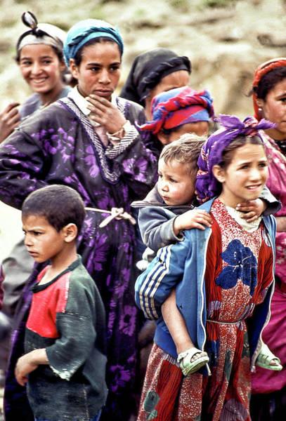 Photograph - Moroccan Children by Robert Woodward