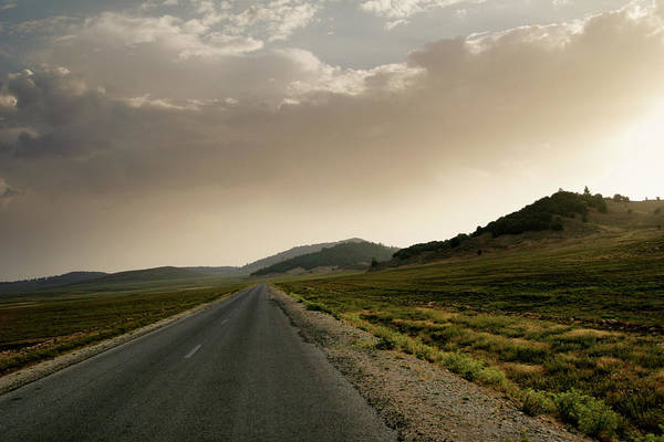 Berber Wall Art - Photograph - Moroccan Highway by Ntmw