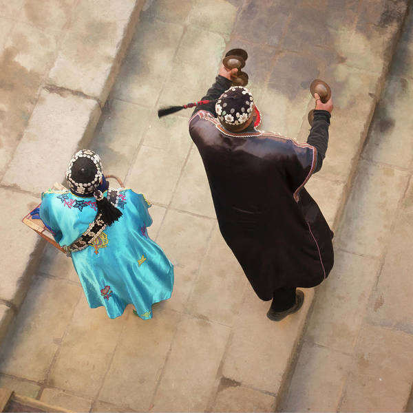 Photograph - Moroccan Street Dancers by Jessica Levant