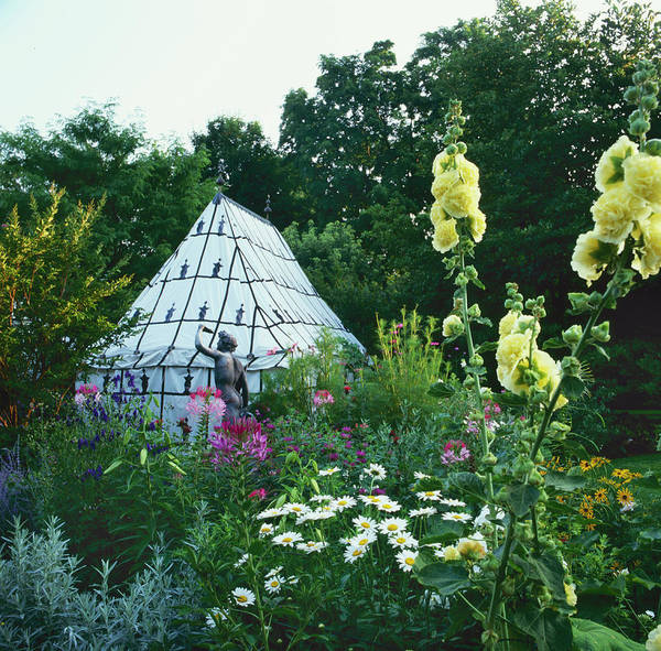 Tent Photograph - Moroccan Tent In Garden by Richard Felber