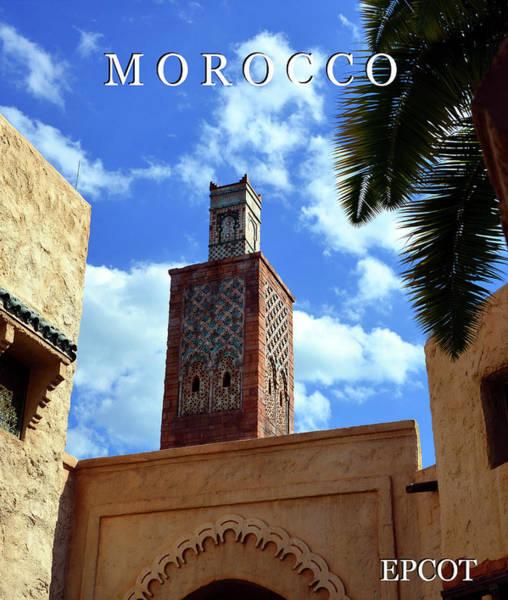 Wall Art - Photograph - Morocco At Epcot by David Lee Thompson