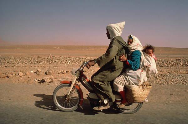 Berber Wall Art - Photograph - Morocco, The Tafilalt, Er Rachida by Robert Van Der Hilst
