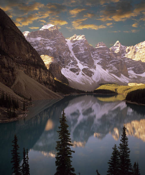 Moraine Lake Photograph - Morraine Lake by Images Etc Ltd