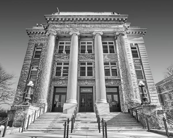 Photograph - Morrill Hall At University Of Minnesota by Jim Hughes
