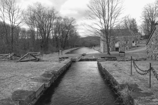 Photograph - Morris Canal And Lock - Waterloo Village by Christopher Lotito